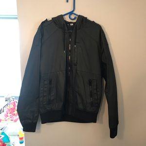 H&M men's hooded jacket